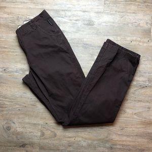 Columbia dark brown women's hiking pants